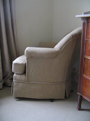 Comfy Chair : Upholstery Services .:. Isabelle Levy